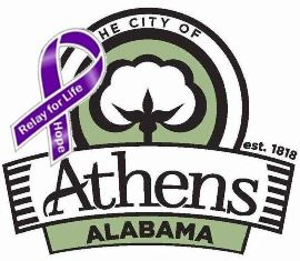 City of Athens Relay for Life Logo