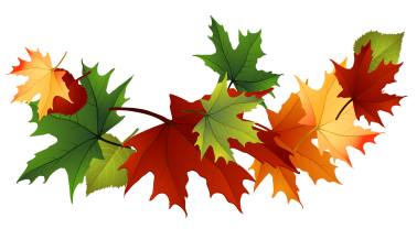 Clip art of leaves