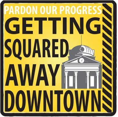 Squared Away Downtown logo