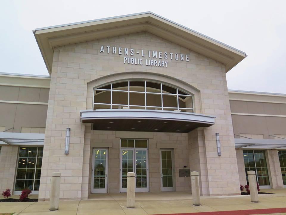 Athens-Limestone Public Library Entrance