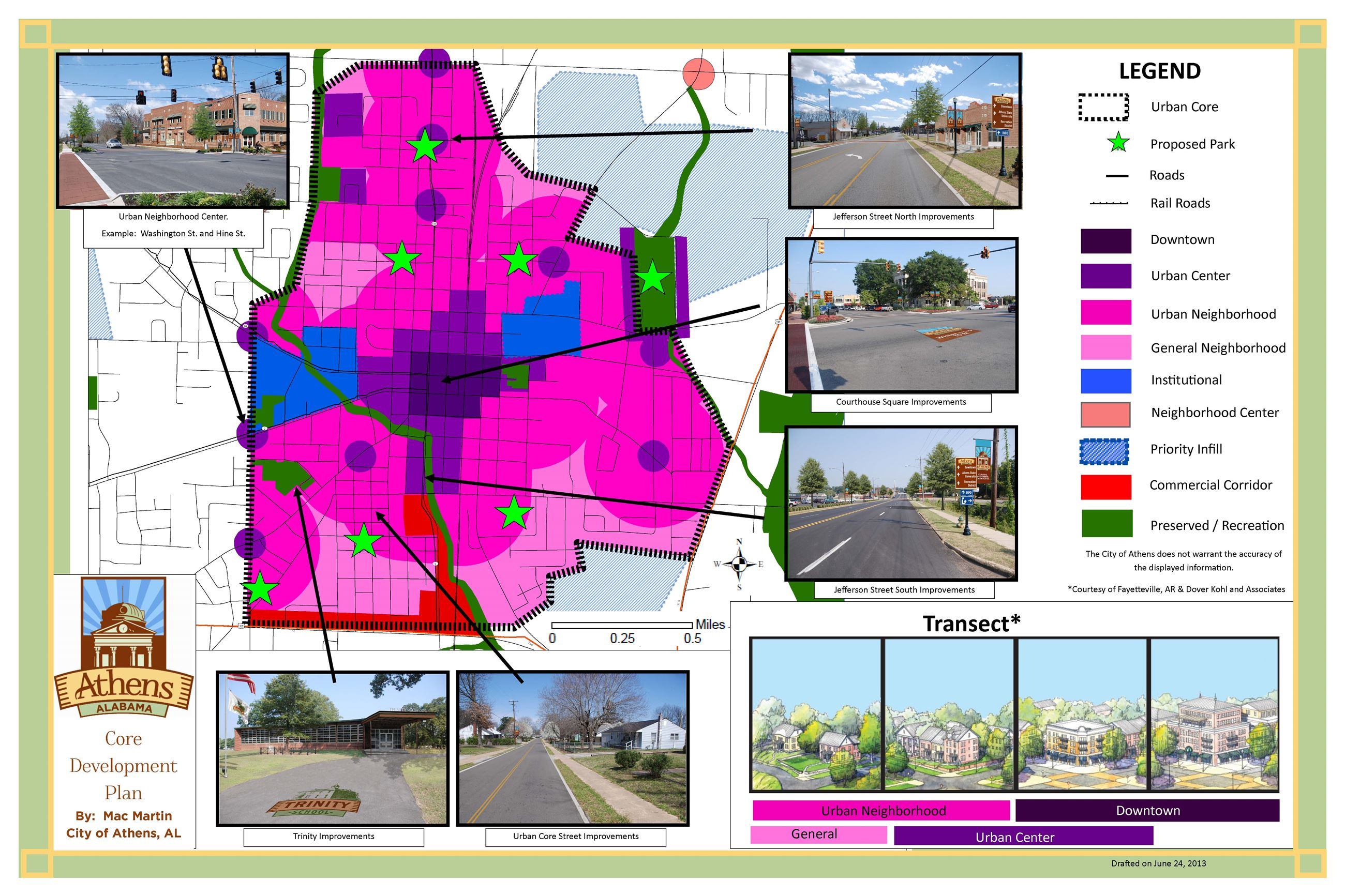 Strategic Development and Land Use Plan 5 map
