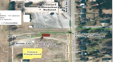 Cowart safe room site plan
