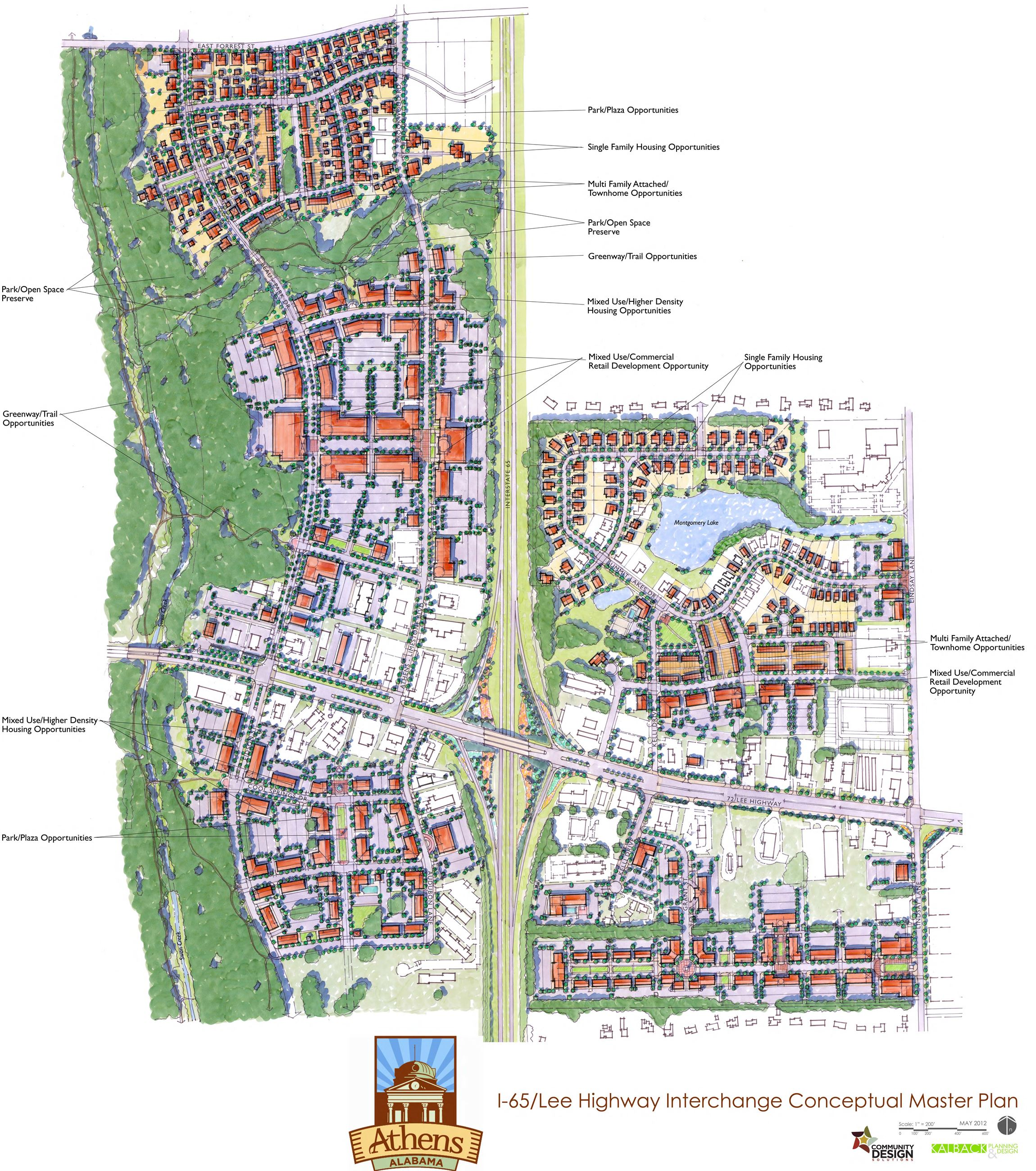Conceptual Master Plan Map